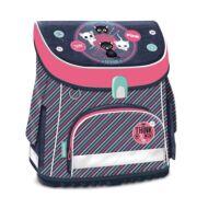 Iskolatáska ARS UNA ergonómikus mágneszáras Think Pink sötétkék
