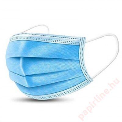 Szájmaszk orvosi 3 rétegű sterilizált kék 1db